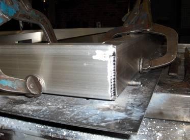 Tig svejsning aluminium