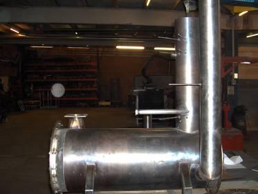Co2 svejsning i rustfrit stål