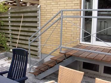 Ude trapper – Pileflethegn jem og fix