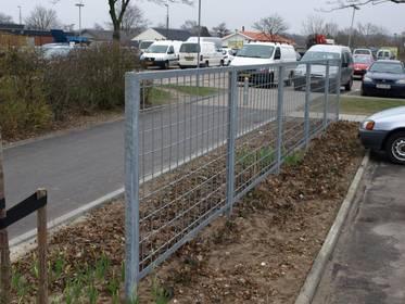 Galvaniseret rionet, dit nye hegn til haven
